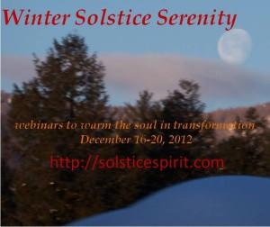 Winter Solstice Button